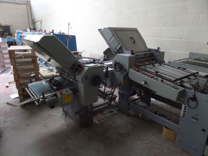 Image of Used Stahl T52 Folder For Sale