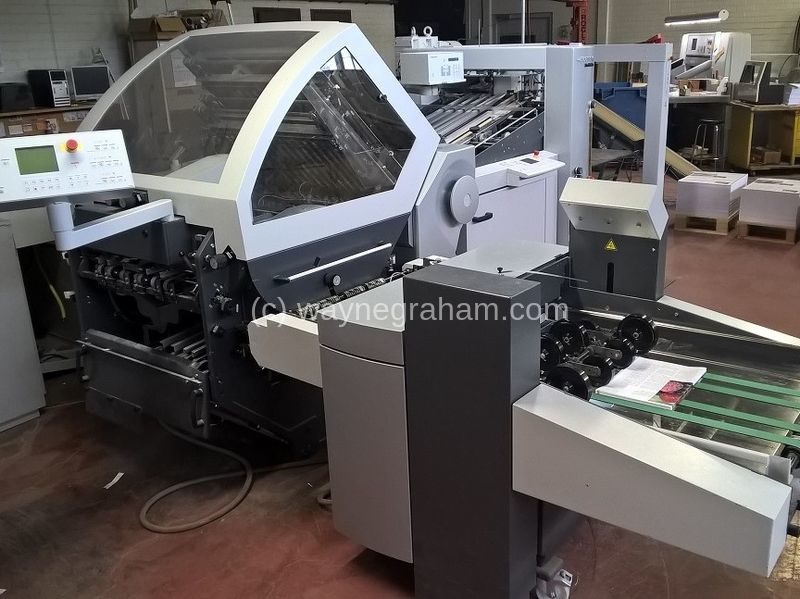 Image of Used Heidelberg Stahlfolder KH 66 Folder For Sale