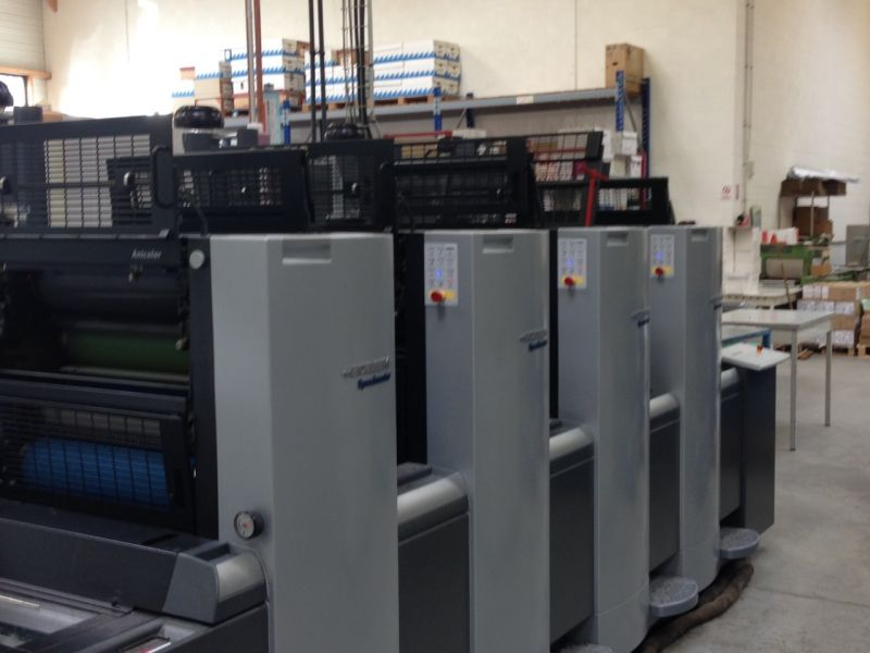 Image of Used Heidelberg SM 52-4 Four Colour Anicolor Printing Press For Sale