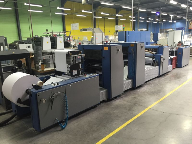 Image of Used Rotatek 250 Continuous And Business Forms Web Press for Sale