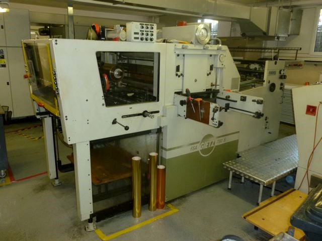 Used Gietz FSA 790 Hot Foiling Machine For Sale
