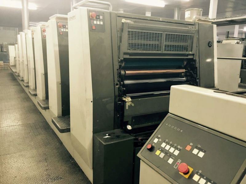 Image of Used Komori Lithrone SX 629+C Six Colour Printing Press With Coater For Sale