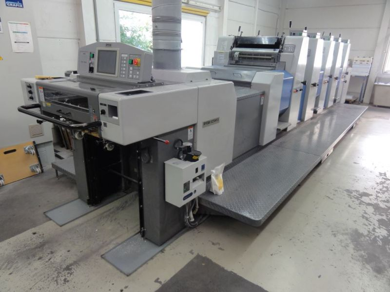 Image of Used Ryobi 525 HXX Five Colour Printing Press For Sale
