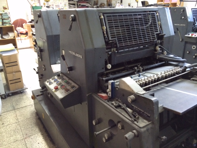 Image of Used Heidelberg GTOZ 52 Two Colour Printing Press For Sale