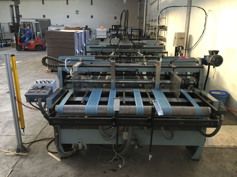 Image of Used Vega Onda 1600 Corrugated Folding Carton Gluer For Sale