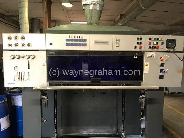 Image of Used Heidelberg Speedmaster CD 102-7-LX Seven Colour Printing Press With Coating Unit And Interdeck UV Drying
