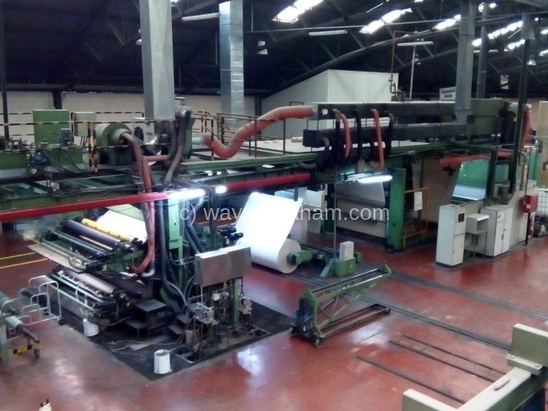 Image of Used Schiavi Stratos Flexographic Web Press For Sale