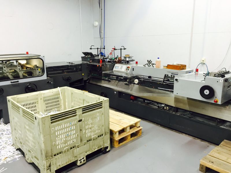 Image of Used Heidelberg Stitchmaster ST 300 Gatherer Stitcher Trimmer For Sale