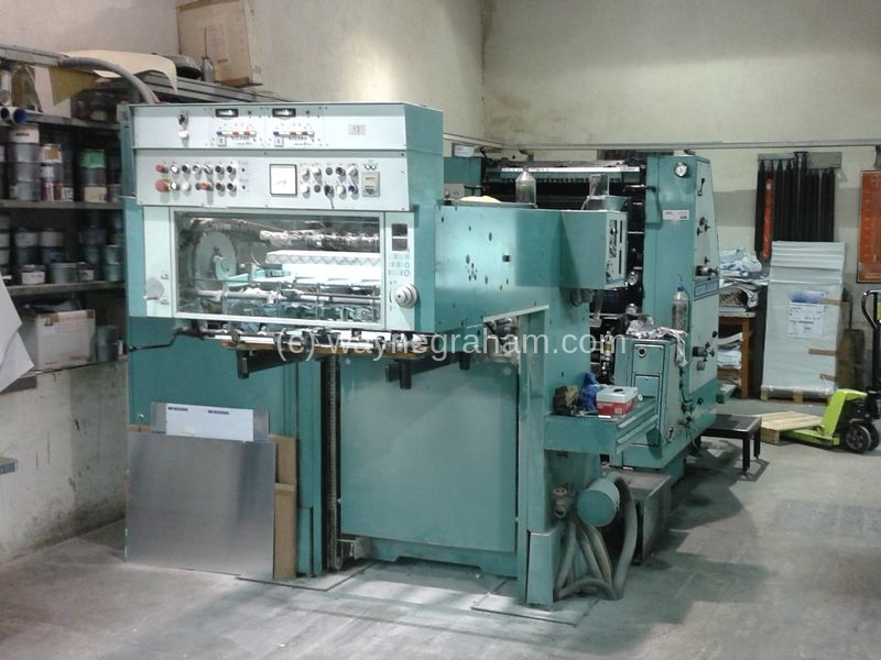 Image of Used Roland Favorit RZF OB Two Colour Printing Press For Sale