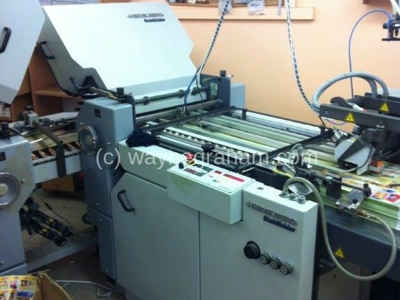 Image of Used Heidelberg Stahlfolder Ti 52 Folder For Sale