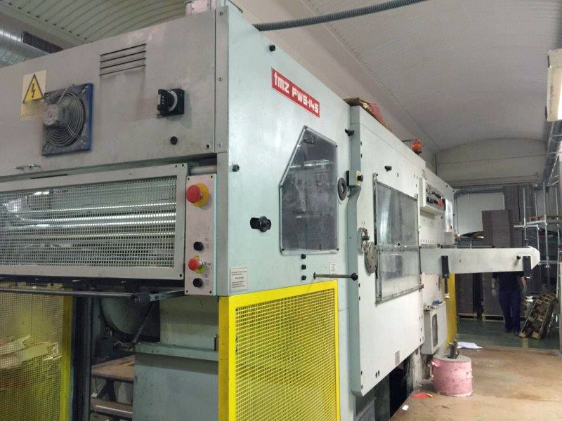 Image of Used TMZ PWS-145 Die Cutter With Stripping Unit For Sale