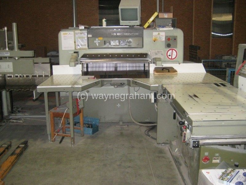 Image of Used Polar 115 EM-Mon Guillotine For Sale