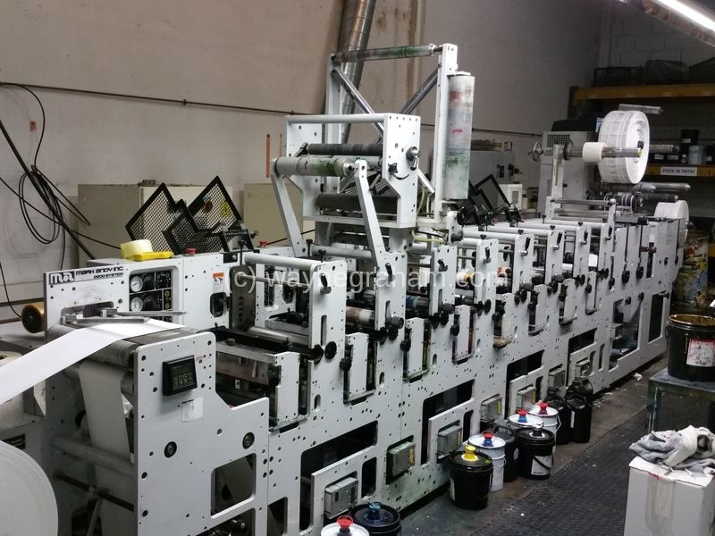 Image of Used Mark Andy 2200 Flexographic Labels Web Press For Sale
