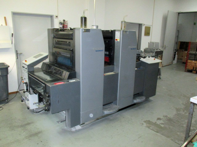 Image of Used Heidelberg SM 52-2 Two Colour Printing Press For Sale
