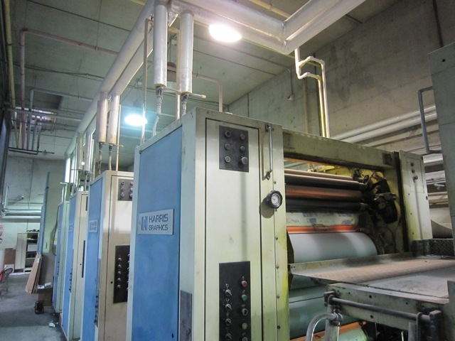 Image of Used Harris M 1000X Commercial Web Press For Sale