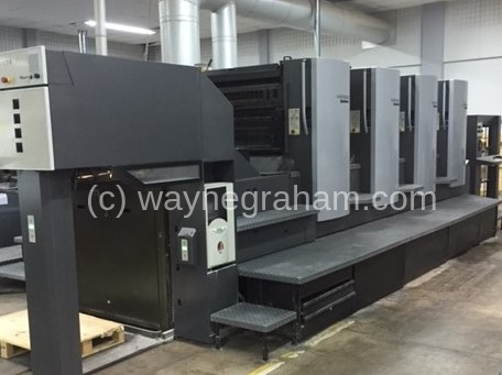 Image of Used Heidelberg SM CD 102-4 Four Colour Printing Press For Sale