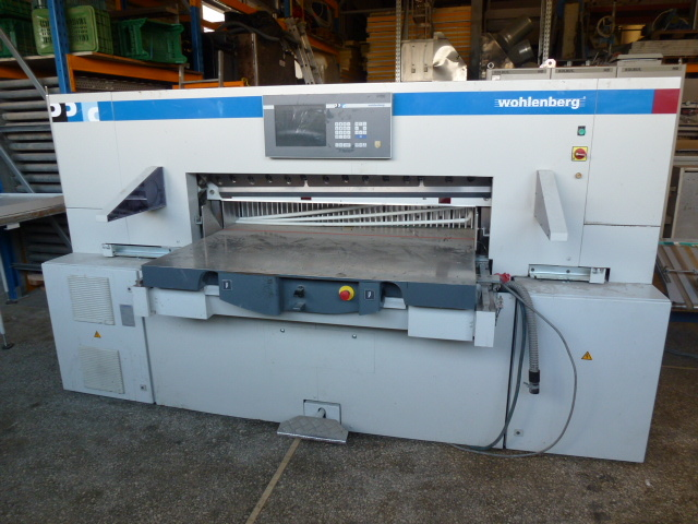 Image of Used Wohlenberg 137 Guillotine For Sale