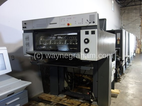 Image of Used Heidelberg SM 74-8-P-H Eight Colour Printing Press For Sale