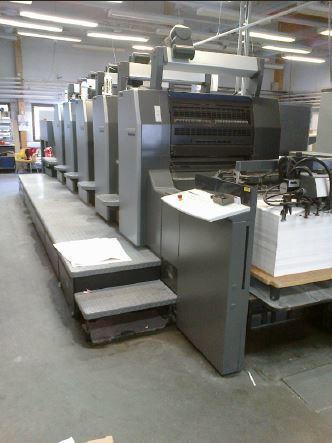 Image of Used Heidelberg Speedmaster 74-5-P-H Five Colour Printing Press For Sale