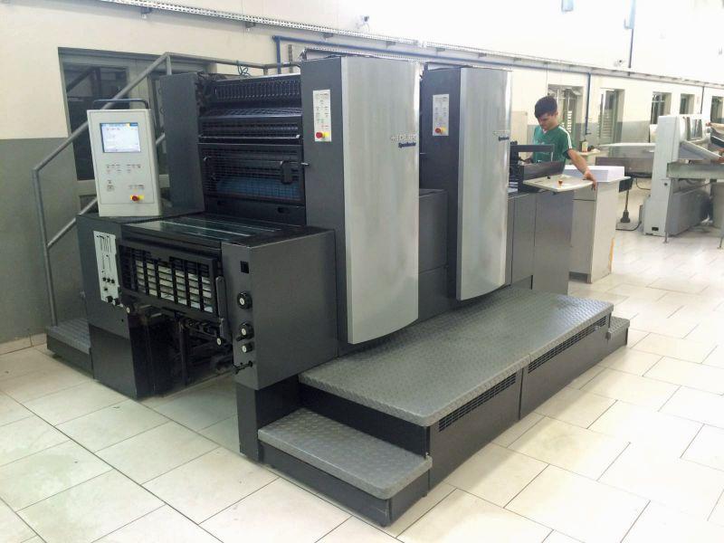 Image of Used Heidelberg Speedmaster 74-2-P Two Colour Printing Press