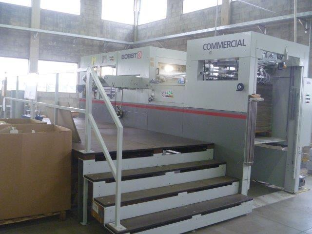 Image of Used Bobst Commercial 106 Die Cutter With Stripping Unit For Sale