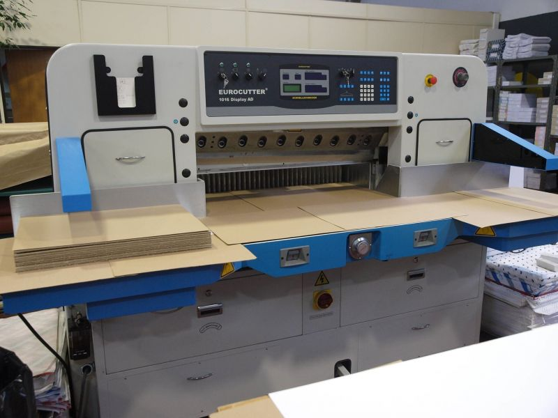 Image of Used Eurocutter 1016 Display AD Guillotine For Sale