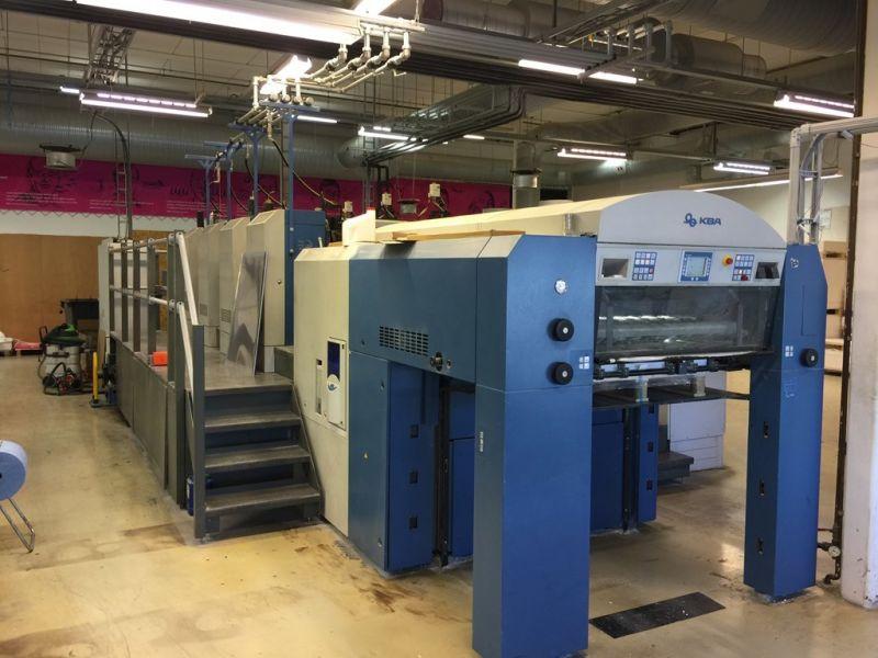 Image of Used KBA Rapida 106-4 Four Colour Printing Press For Sale