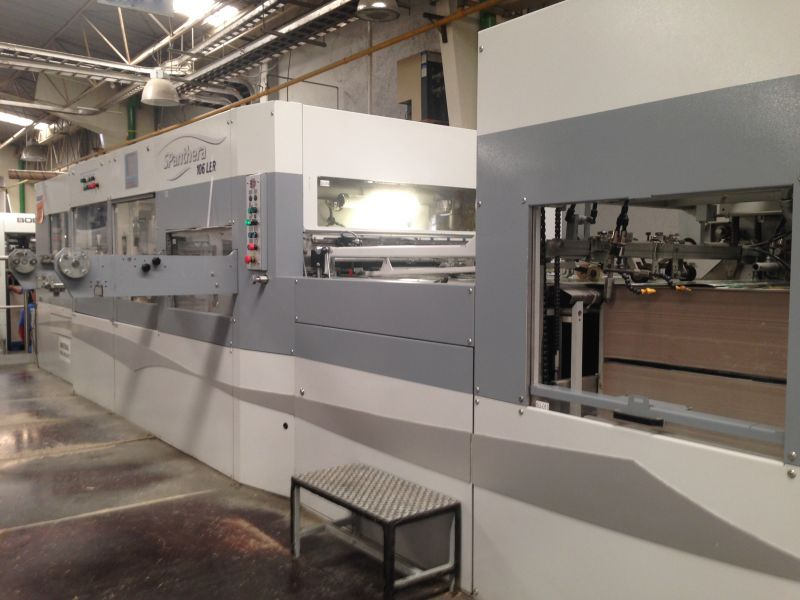 Image of Used Bobst SPanthera 106-LER Die Cutter With Stripping And Blanking Unit For Sale