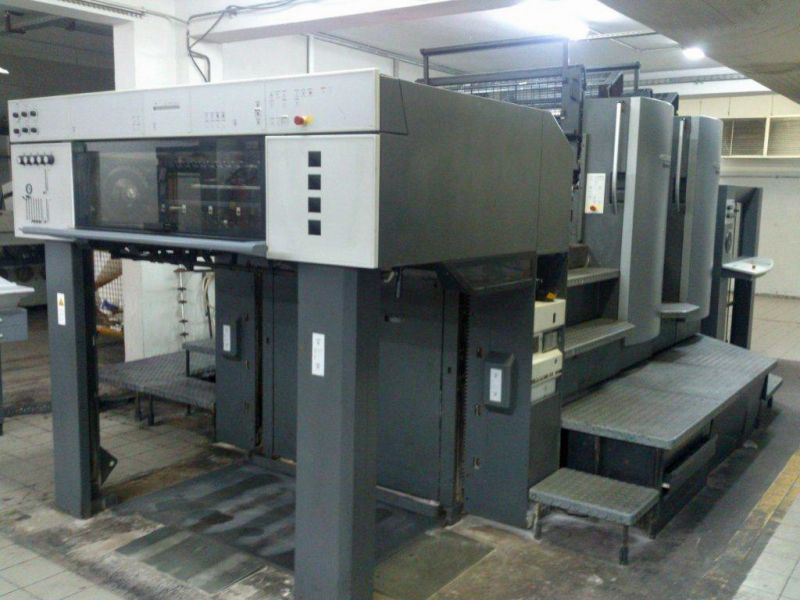 Image of Used Heidelberg Speedmaster 102-2 Two Colour Printing Press For Sale