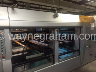Image of Used Iberica SRK-144 Die Cutter With Stripping And Blanking Units For Sale