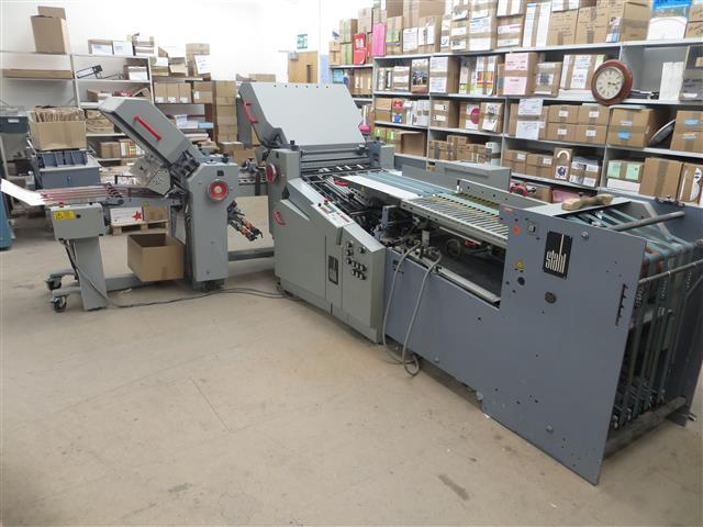Image of Used Heidelberg Stahlfolder Ti 55 Folder For Sale
