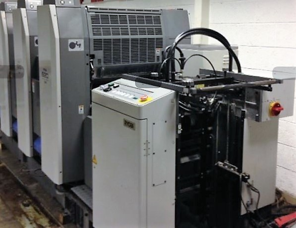 Image of Used Ryobi 524 GX Four Colour Printing Press For Sale