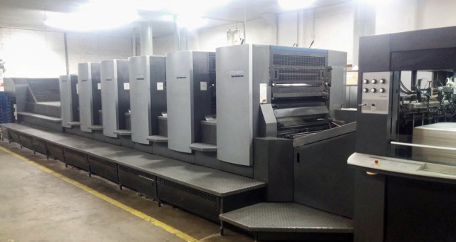 Image of Used Heidelberg Speedmaster CD 102-5-LX Five Colour Printing Press With Coating Unit For Sale