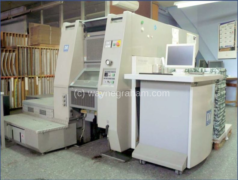 Bild von gebrauchte Ryobi 3404DI Vier Farb-Digitaldruck-Presse