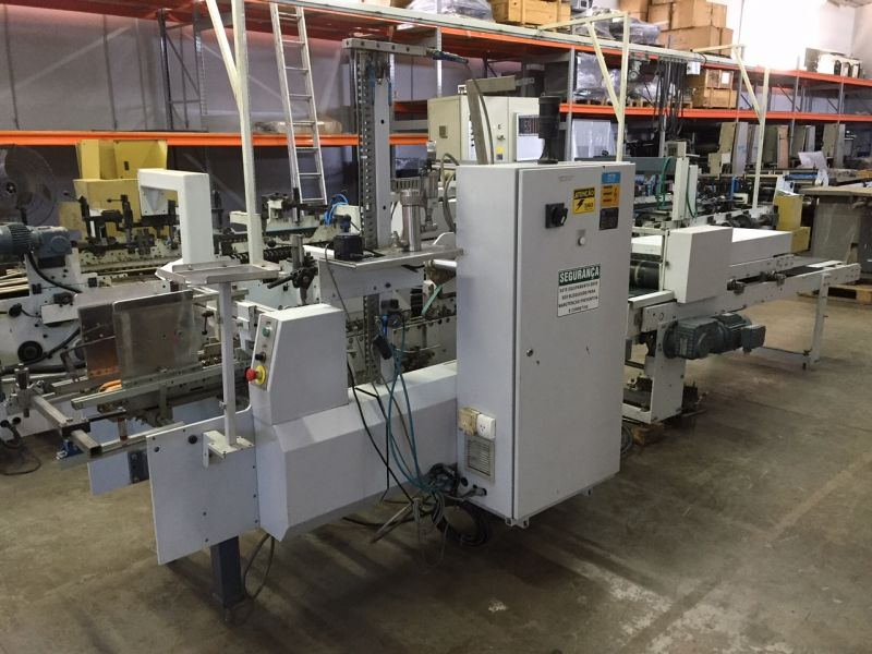 Image of Used Bobst Speciality CD Folding Carton Gluer For Sale