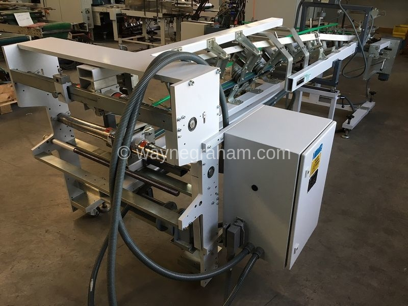 Image of Used Bobst Handypack Folding Carton Gluer Delivery For Sale