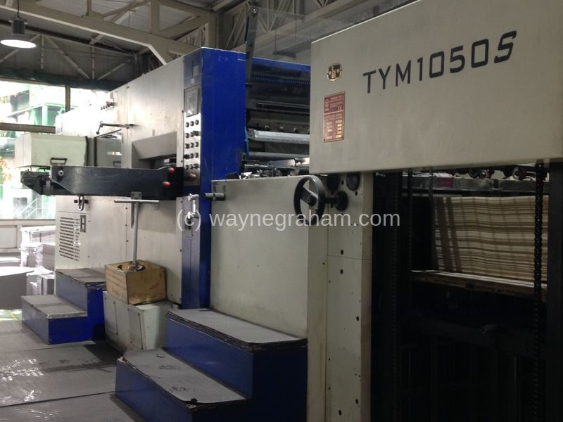 Image of Used Yawa TYM 1050 S Hot Foiling Machine For Sale