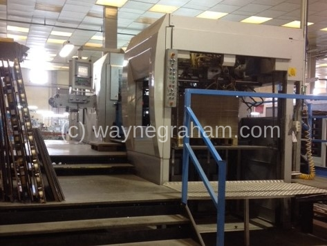 Image of Used Iberica SR-144 Die Cutter With Stripping Unit For Sale