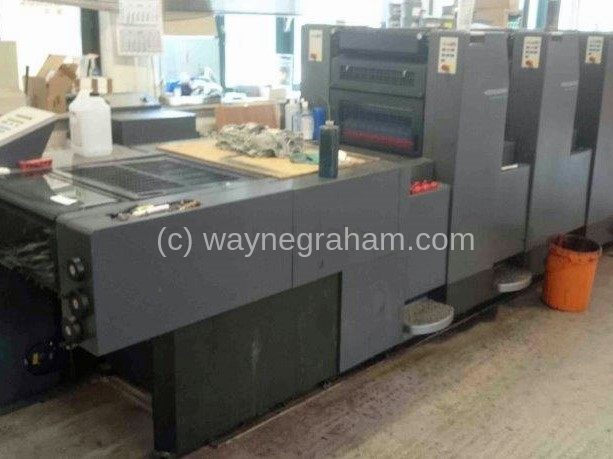 Image of Used Heidelberg Speedmaster 52-4-H Four Colour Printing Press