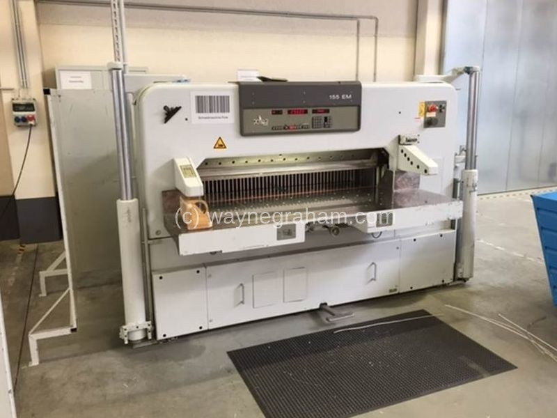 Image of Used Polar 155 EM Guillotine For Sale