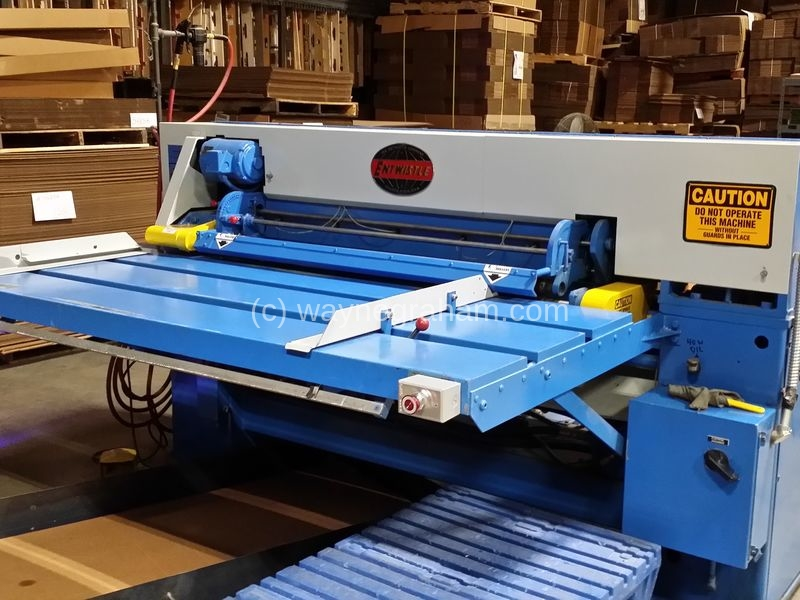 Image of Used Rite-Size Corrugated Box Maker For Sale