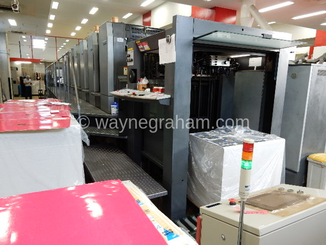 Image of Used Heidelberg CD 102-6-LX Six Colour Printing Press With Coating Unit And UV Drying For Sale
