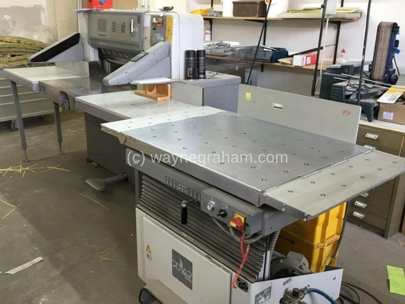 Image of Used Polar 78 ED Guillotine For Sale