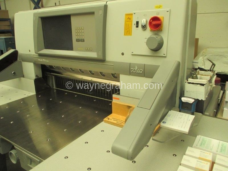 Image of Used Polar 78 X Plus Guillotine For Sale