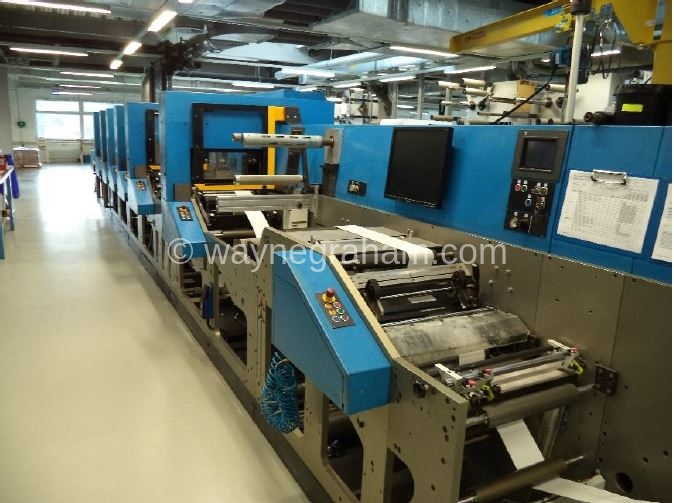 Image of Used ILM Ilma 340 Label Web Press For Sale