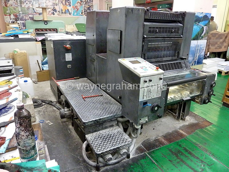 Image of Used Heidelberg Speedmaster 52-2-P Two Colour Printing Press For Sale