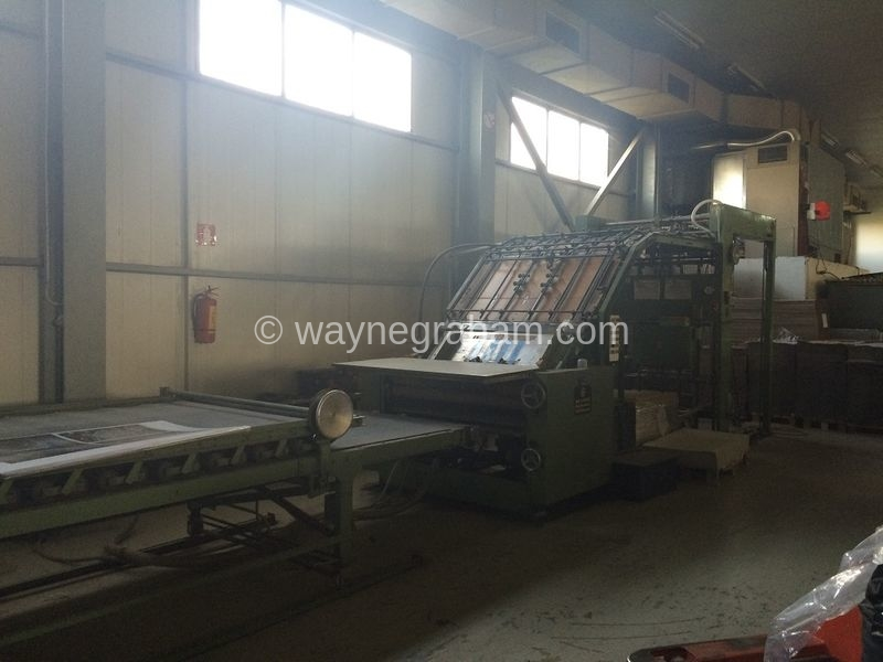 Image of Used Stock 1250 Laminator For Sale