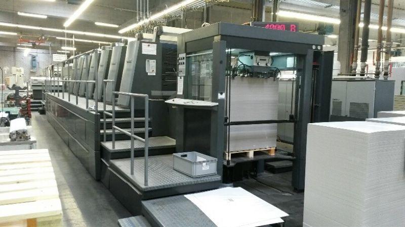Used Heidelberg Speedmaster Xl 105 6 L Six Colour Printing