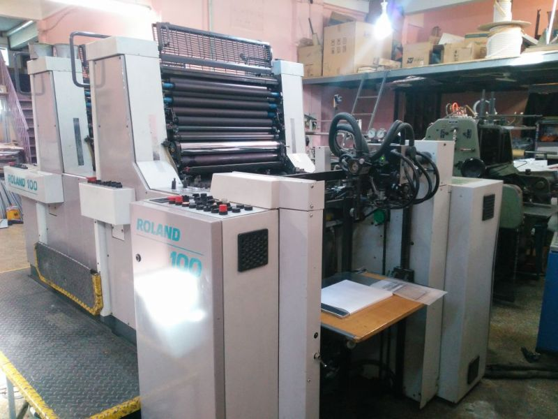 Image of Used Roland 102 TOB Two Colour Printing Press For Sale