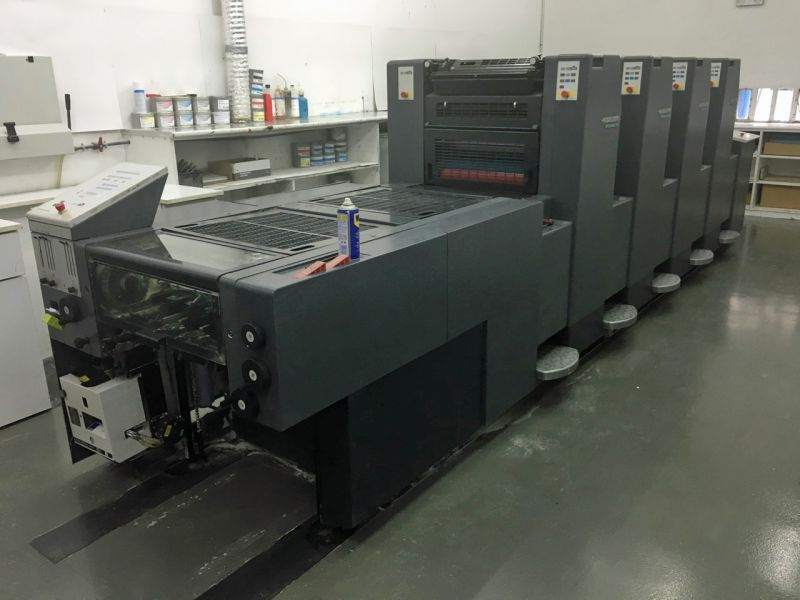 Image of Used Heidelberg Speedmaster 52-4-H Four colour Printing Press For Sale